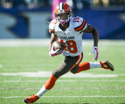 Atlanta Falcons' Taylor Gabriel starring after being cut by Cleveland Browns