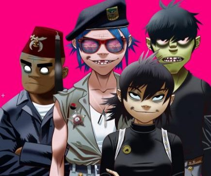 Gorillaz announce first North American tour in seven years