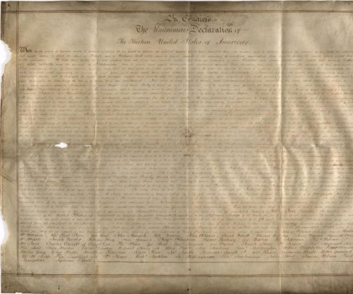 Researchers unearth second parchment copy of Declaration of Independence