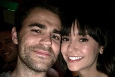 'Vampire Diaries': Nina Dobrev reunites with Paul Wesley