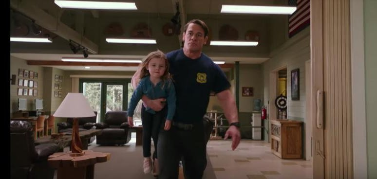 Watch John Cena Plays Firefighter Babysitter In Playing