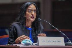 Senate narrowly votes to confirm Vanita Gupta as associate attorney general