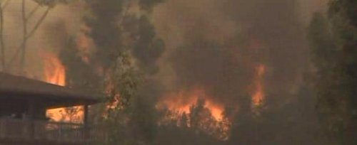 California wildfires prompt arrest, charges