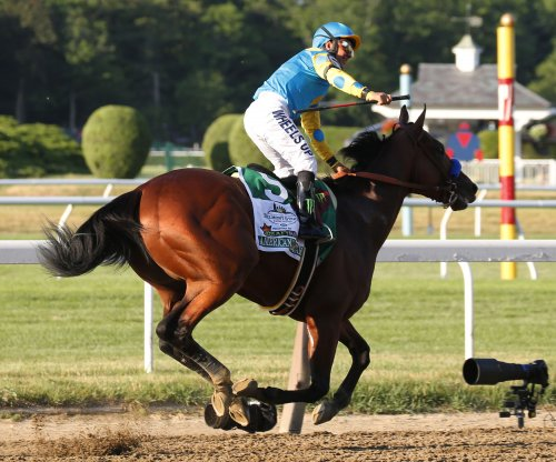 American Pharoah heading back to Santa Anita