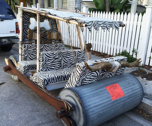 Real-life version of Fred Flintstone's car found illegally parked in Florida