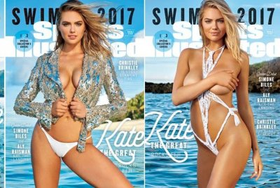 Kate Upton named 2017 Sports Illustrated swimsuit covergirl