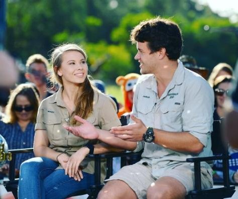 Bindi Irwin says boyfriend Chandler Powell is 'living sunshine'
