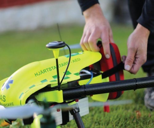 Drones may one day allow for faster heart attack treatment
