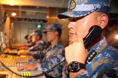 China stages navy drills after North Korea launch