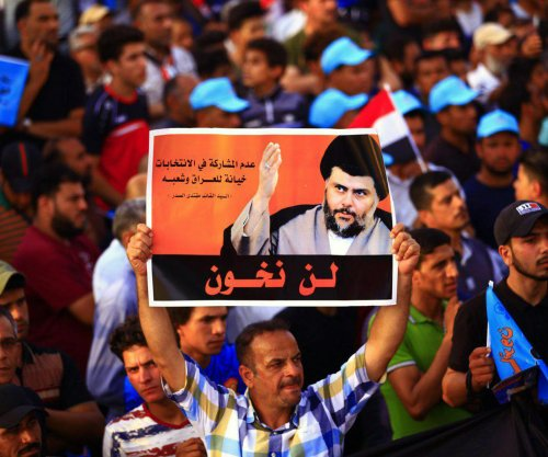 Shiite leader Muqtada al-Sadr's coalition set to win in Iraq