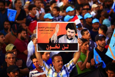 Shiite leader Moqtada Sadr's coalition set to win in Iraq