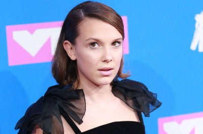 Millie Bobby Brown performs with Maroon 5 in Nashville