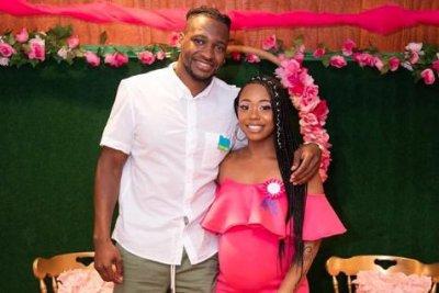 Shawniece-Jackson,-Jephte-Pierre-announce-daughter's-birth