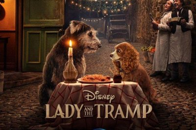 'Lady and the Tramp' share meal in poster for live-action film