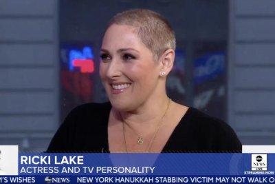 Ricki Lake feels 'free' after sharing hair loss story