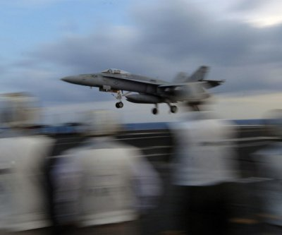Super Hornet makes emergency landing after engine fire in Virginia