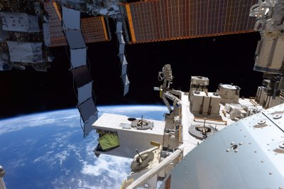 Space Station air leak repaired with help from floating tea leaves