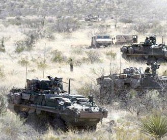 Army conducts live-fire combined arms exercise at Fort Bliss
