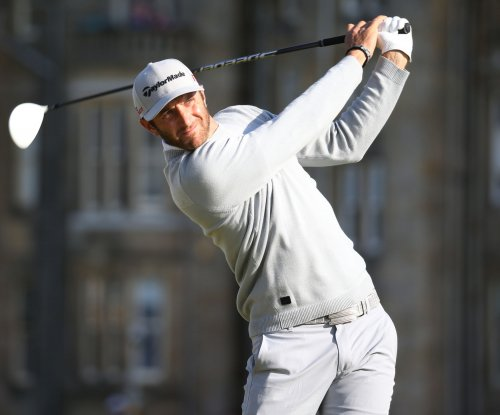 Dustin Johnson leads as Open heads for Monday finish