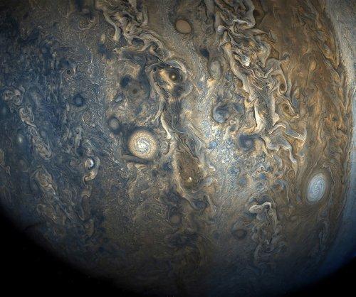 NASA shares new JunoCam image