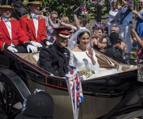 Royal family thanks well-wishers after Prince Harry and Meghan Markle's wedding