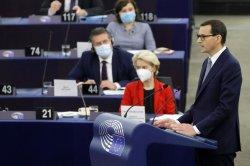 Leaders of EU, Poland clash in debate over divisive constitutional ruling