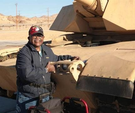 U.S. Marine Corps grants veteran's final wish to hug a tank