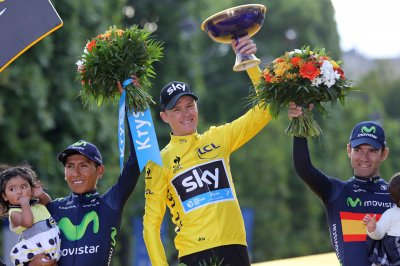 Tour de France: Chris Froome completes historic win