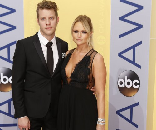 Miranda Lambert and Anderson East attend the CMA Awards