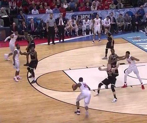 NCAA: Conner Frankamp's 3-pointer helps Wichita St. dump Dayton