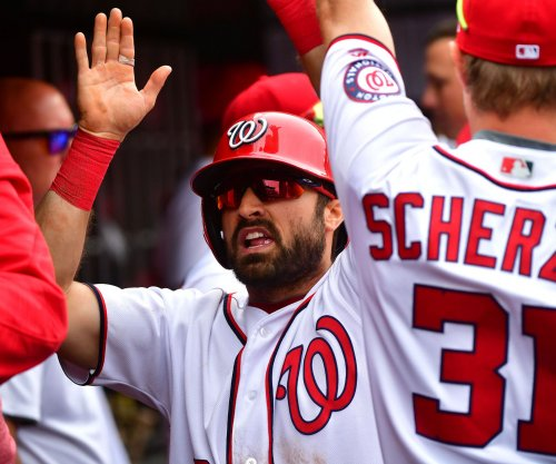 Washington Nationals' Adam Eaton tears ACL, likely to miss rest of season