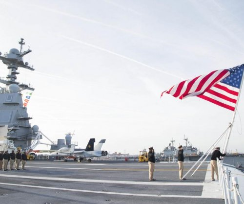 Navy contracts with HII for material, labor for work on Ford