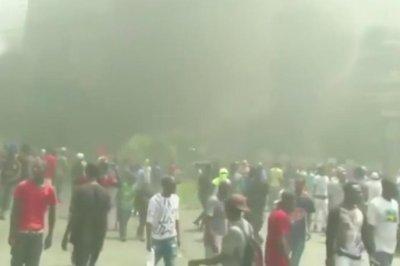 Haiti protests strand U.S. church groups; some flights resume