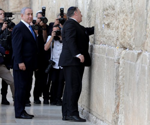 Secretary of State Pompeo visits Western Wall in Israel