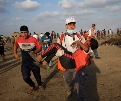Dozens injured in Gaza border clashes