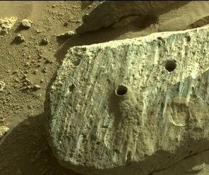 Mars rover's first rock samples reveal lengthy water exposure
