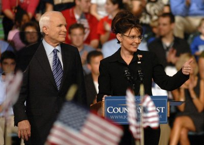 McCain, Palin vow to shake up Washington