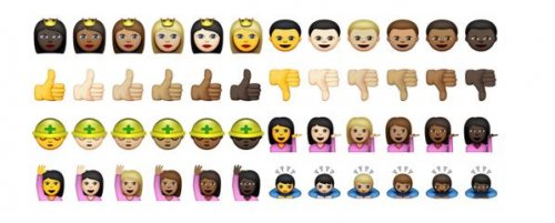 Apple releases new racially diverse emojis