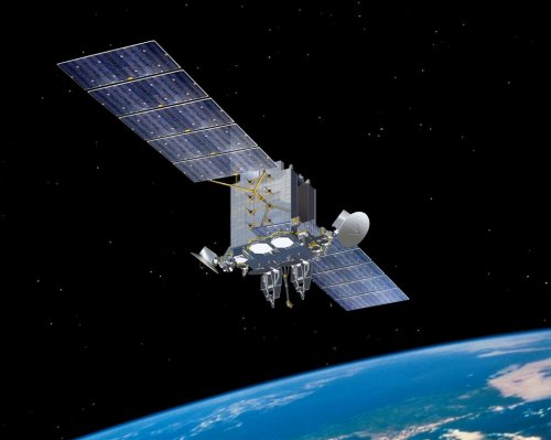 Communications satellite system ready for military use