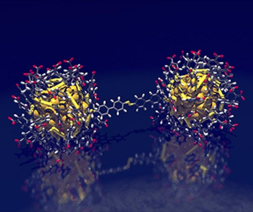 Scientists forge nanogold chains with atomic precision