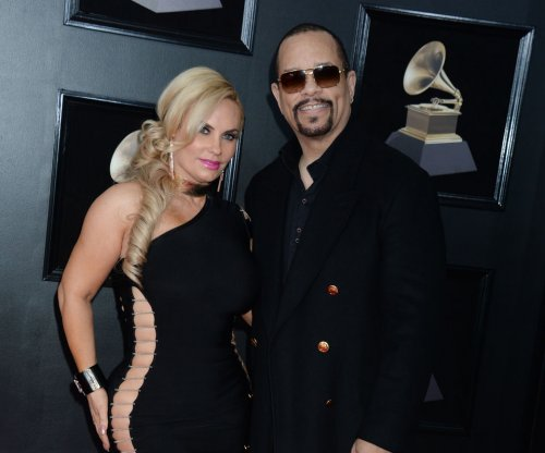 Coco Austin, Ice-T look 'sharp in black' at 2018 Grammys