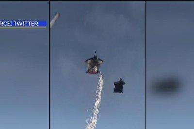 Wingsuit flyers spark meteor reports in Los Angeles