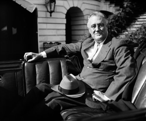 FDR re-elected in record vote