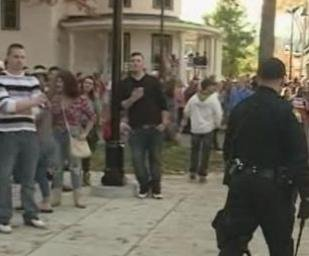 Pumpkin festival in Keene, New Hampshire, ends in chaos