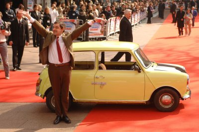 Rowan Atkinson revives Mr. Bean character for anniversary stunt at Buckingham Palace