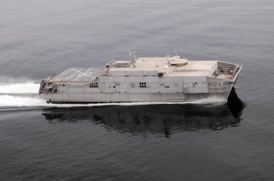 U.S. Navy notes progress on 2 expeditionary fast transports