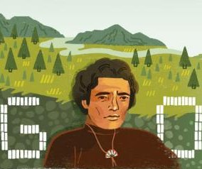 Google honors American-Indian activist Richard Oakes with new Doodle