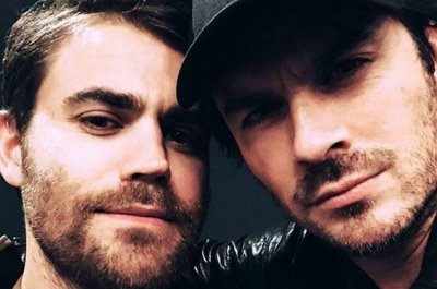 'Vampire Diaries' alums Ian Somerhalder, Paul Wesley reunite