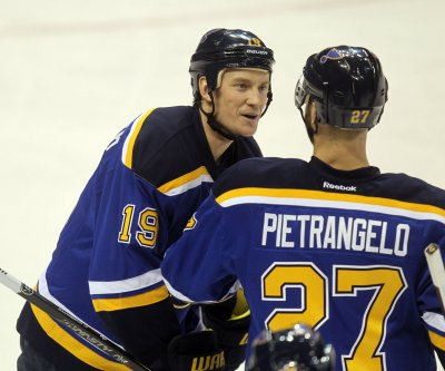 Blues place Jay Bouwmeester on IR after heart episode, prognosis 'very positive'