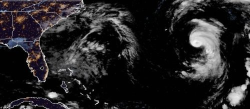 Epsilon wobbles toward Bermuda as major hurricane